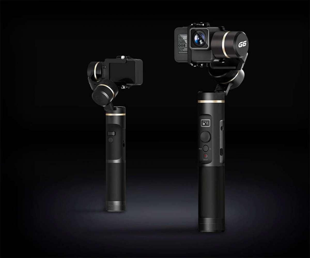 Feiyu G6, un económico estabilizador con Wi-Fi y Bluetooth para cámaras de acción