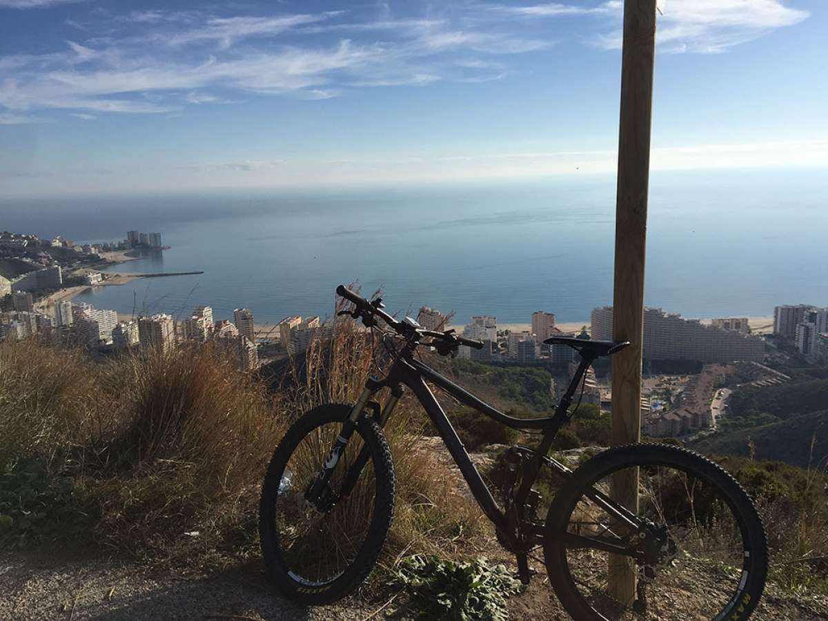 """La foto del día en TodoMountainBike: """"Preciosas vistas de Cullera"""""""