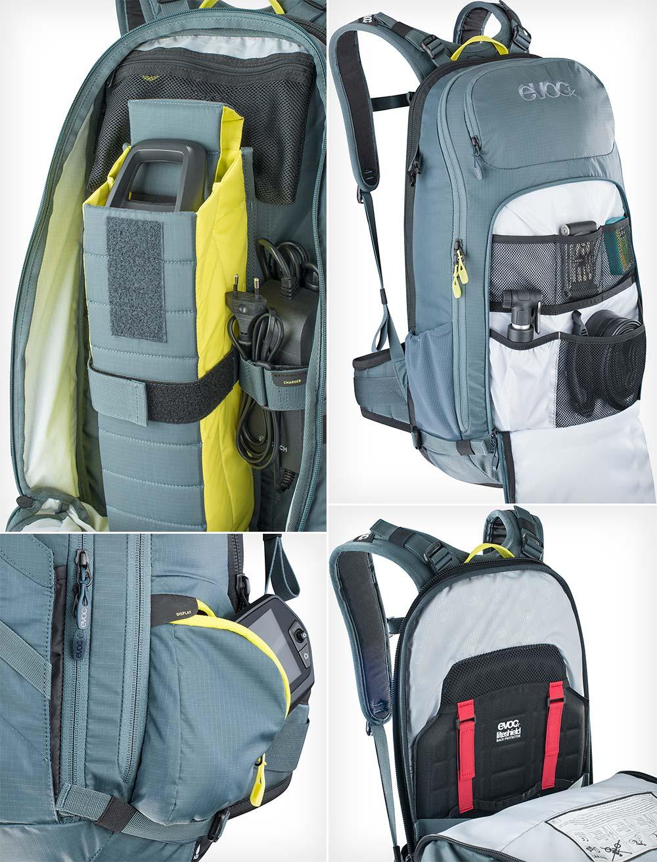 En TodoMountainBike: Evoc FR Trail E-Ride, la mochila perfecta para usuarios de bicicletas eléctricas de montaña