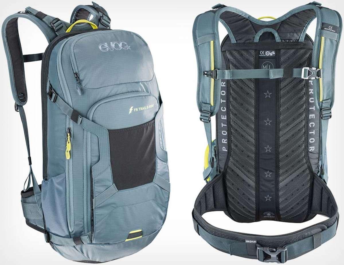 Evoc FR Trail E-Ride, la mochila perfecta para usuarios de bicicletas eléctricas de montaña