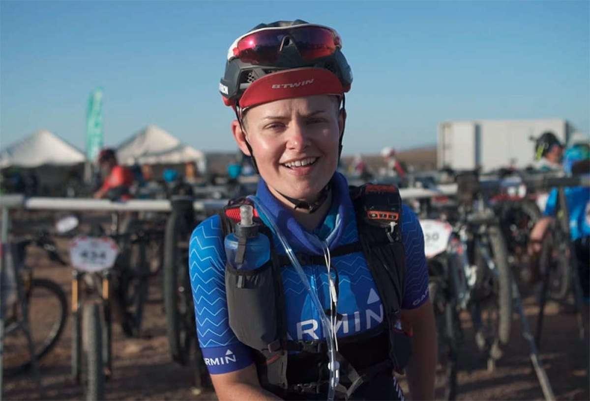 La experiencia de Anna Trullols, la trabajadora de Decathlon que ha terminado la Titan Desert 2018 sobre una RockRider XC 500