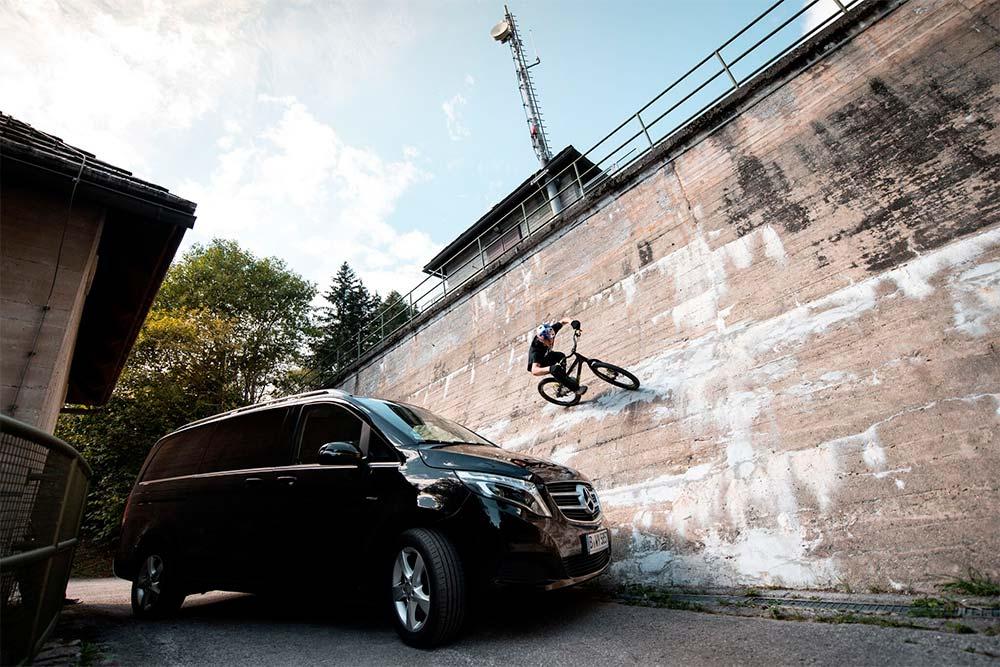 En TodoMountainBike: Fabio Wibmer se asocia con Mercedes-Benz: la historia de uno de los 'bikers' más famosos de YouTube