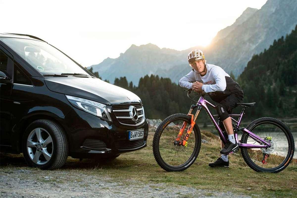 Fabio Wibmer se asocia con Mercedes-Benz: la historia de uno de los 'bikers' más famosos de YouTube
