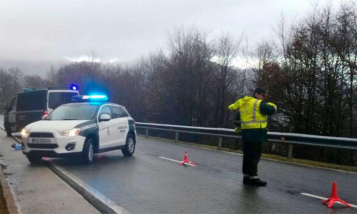 Fallece un ciclista en el alto de Ibañeta (Navarra) mientras realizaba el Camino de Santiago