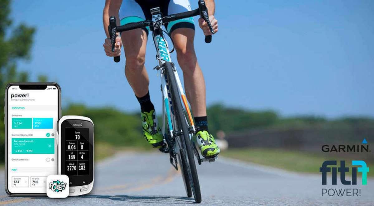 La aplicación Fitif Power! se actualiza para mostrar métricas de potencia en dispositivos Garmin