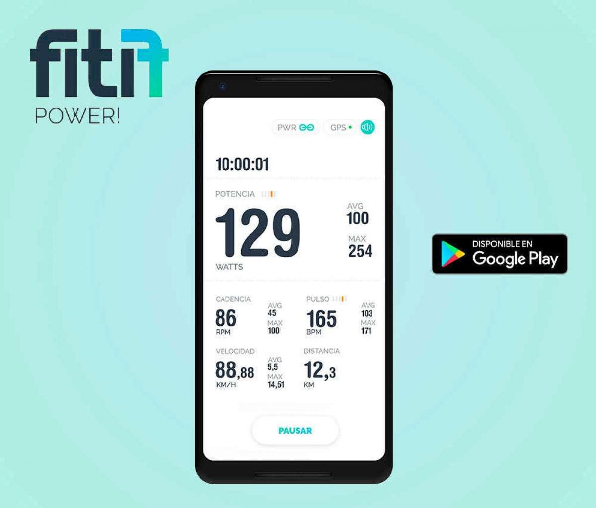 Fitif Power!, el potenciómetro más económico del mundo, llega a Android