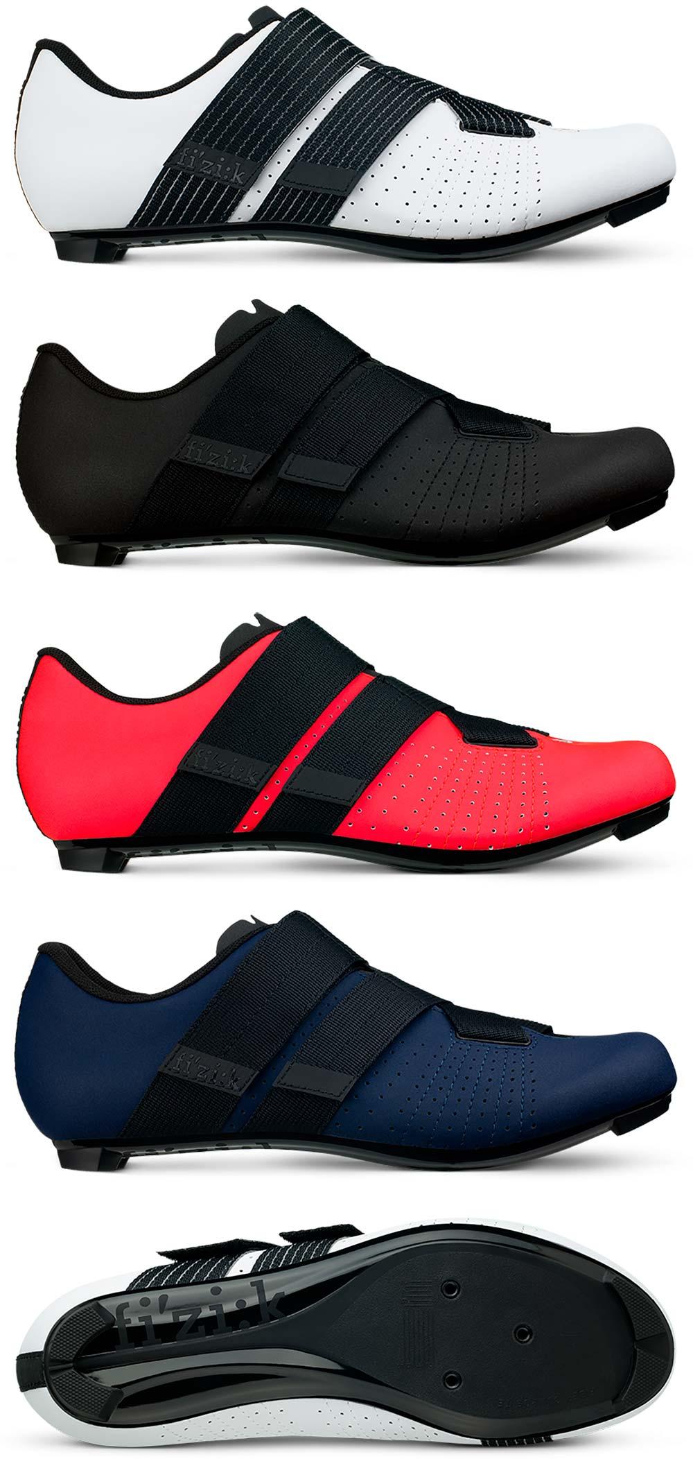 En TodoMountainBike: Fi'zi:k Tempo Powerstrap R5, un calzado de carretera que da una vuelta de tuerca a los cierres de velcro