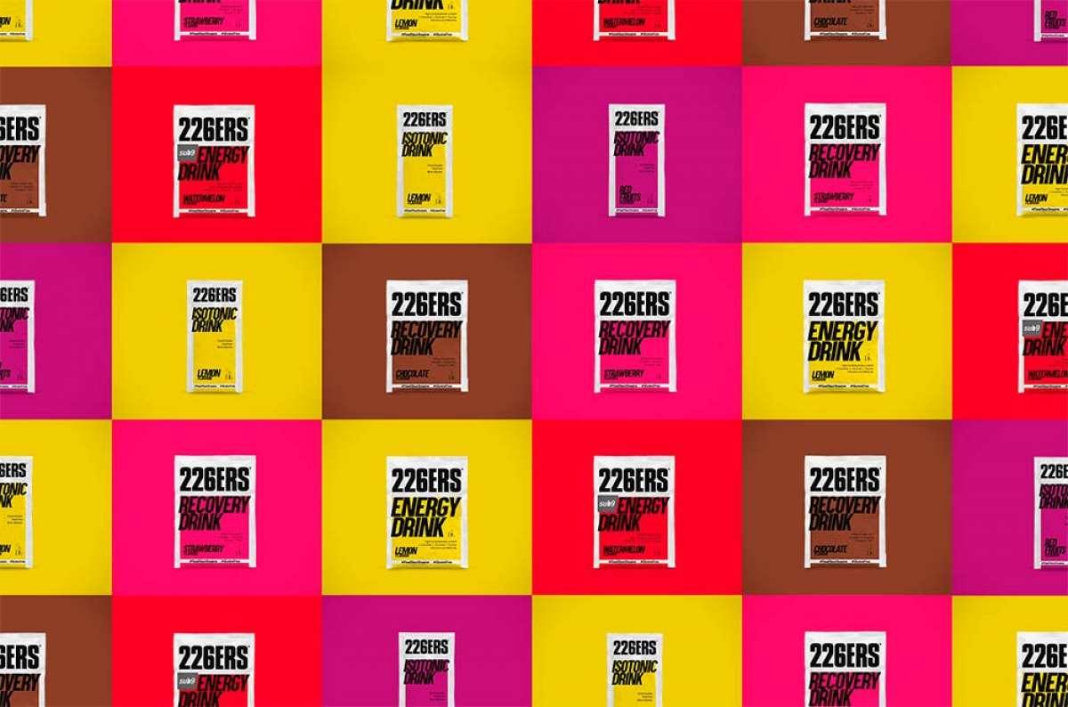 En TodoMountainBike: 226ERS introduce el formato monodosis en su amplia gama de bebidas en polvo