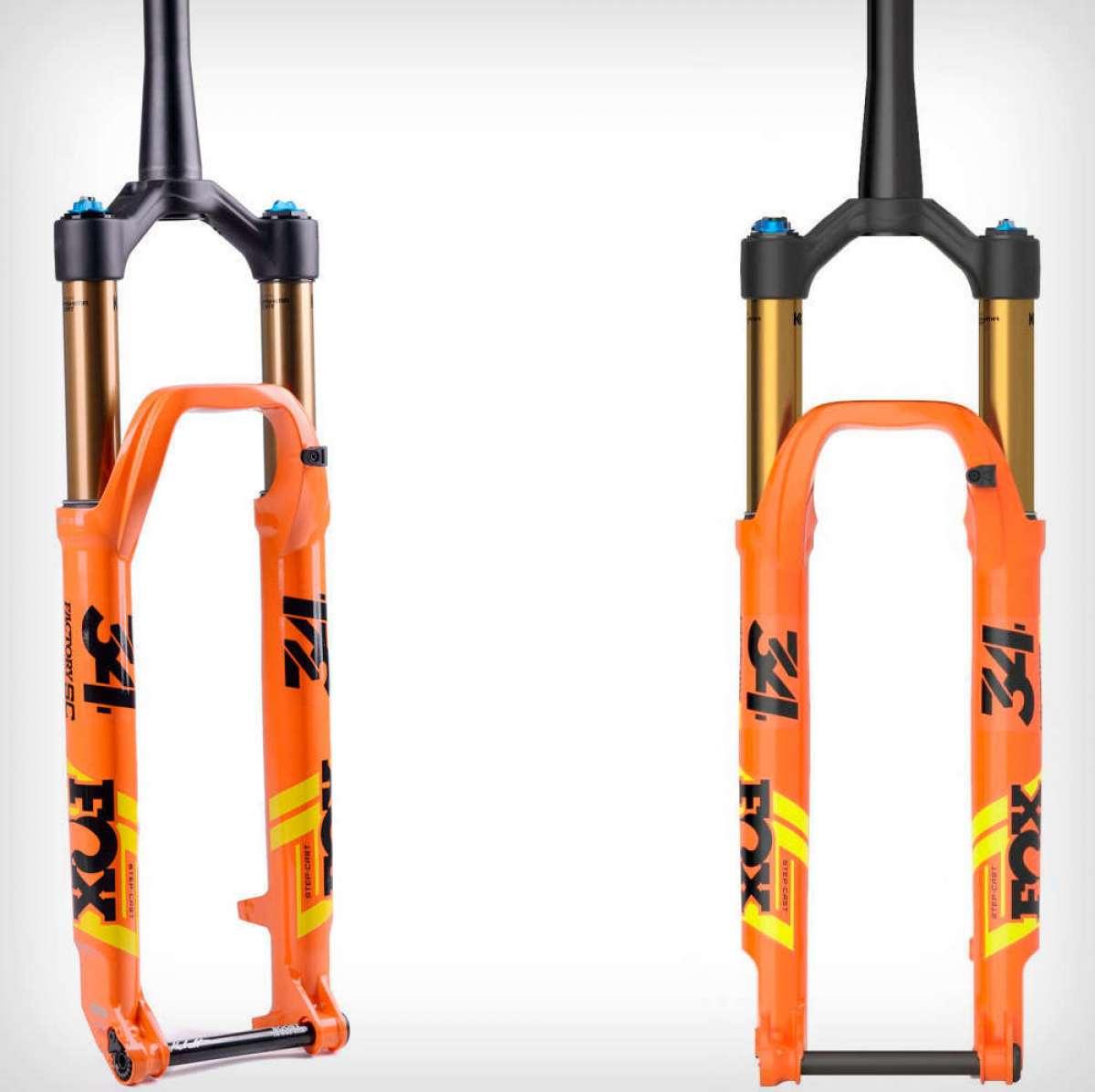 FOX 34 Step-Cast, una horquilla con 120 milímetros de recorrido, gran rigidez y peso ultraligero para bicis de XC y Trail