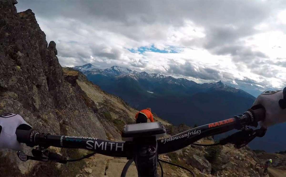 Sesión de Freeride en 4K por el Whistler Bike Park con Nate Hills y Ariel Lindsley