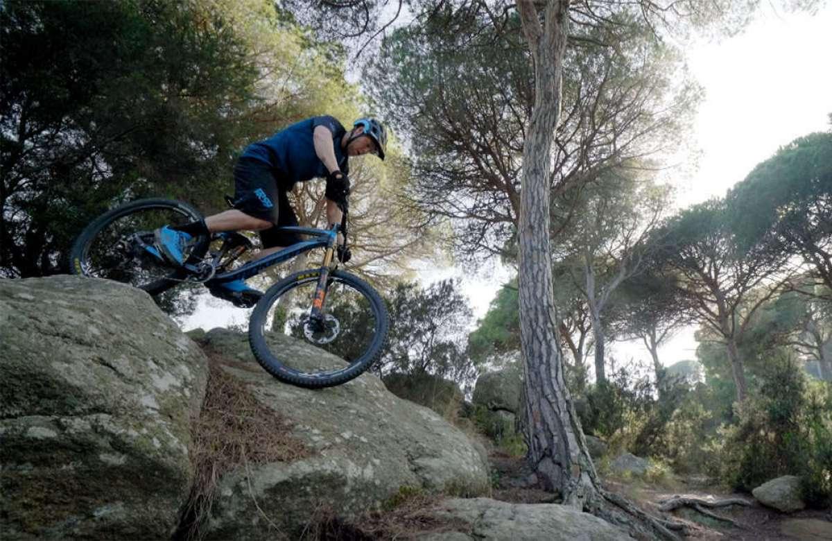 Freeride por los montes de Barcelona con Chris Akrigg y su Mongoose Teocali