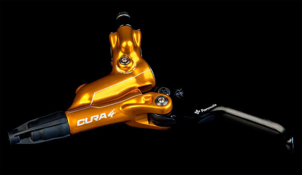 Formula Cura 4: cuatro pistones y color dorado para los frenos más potentes de la firma italiana