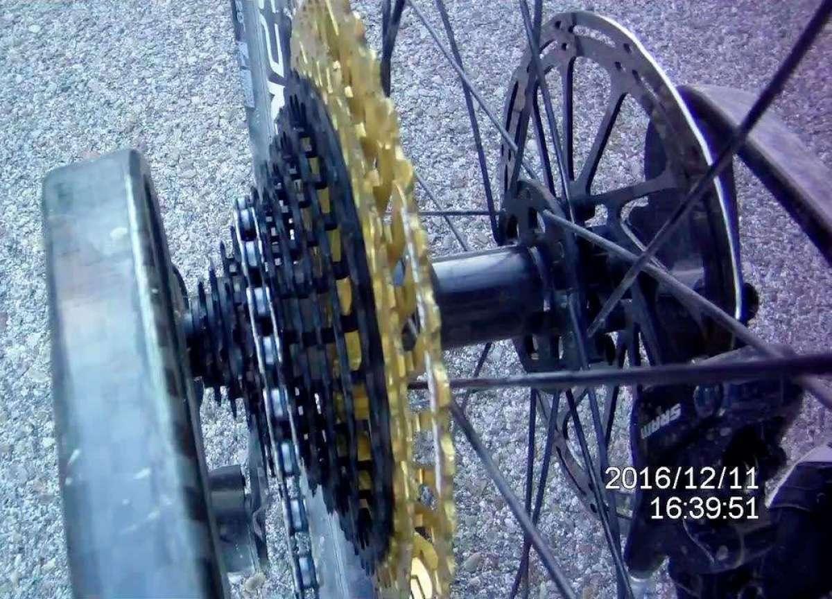 Así funcionan los cambios en el cassette Leonardi General Lee 9.48 de 12 velocidades