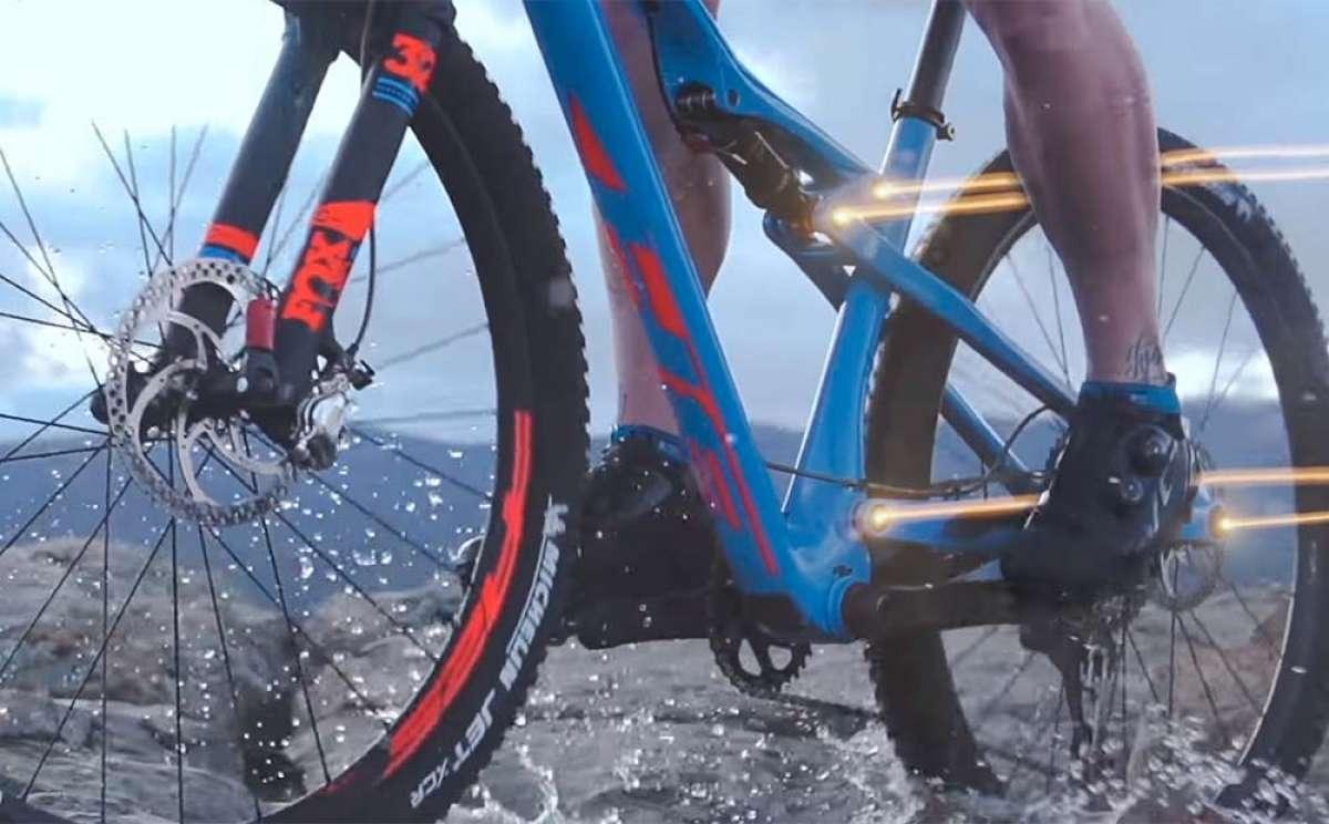 Así funciona el sistema de suspensión Split Pivot de las dobles de BH Bikes