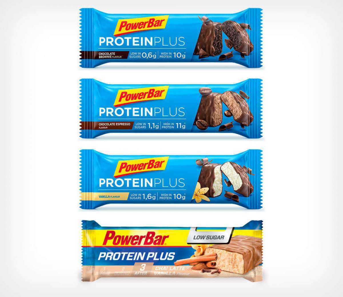 Proteínas a gogó con las barritas PowerBar Protein Plus Low Sugar, Clean Whey y Protein Nut2