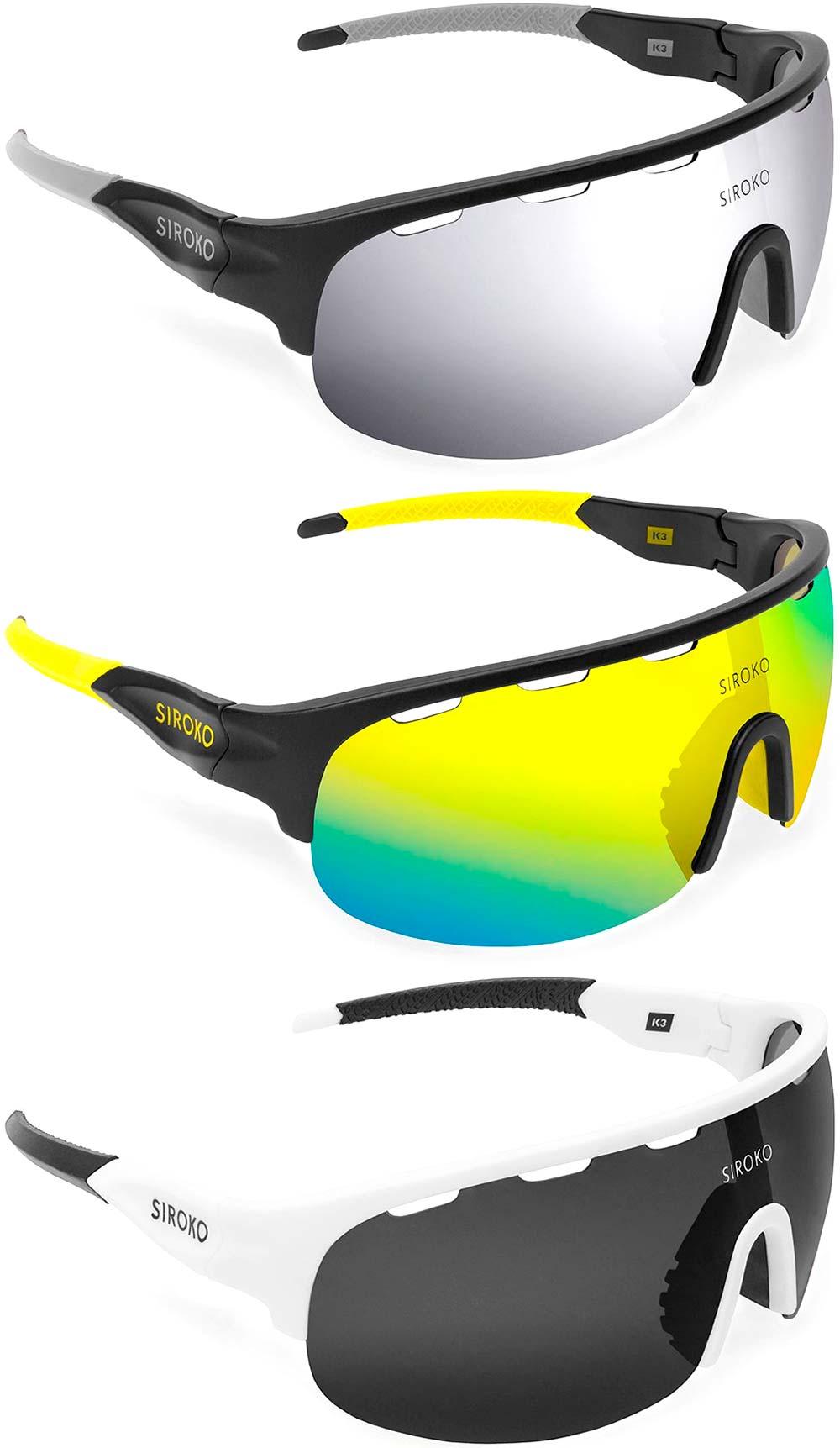 En TodoMountainBike: Siroko renueva por completo su económica gama de gafas deportivas K3 Tech