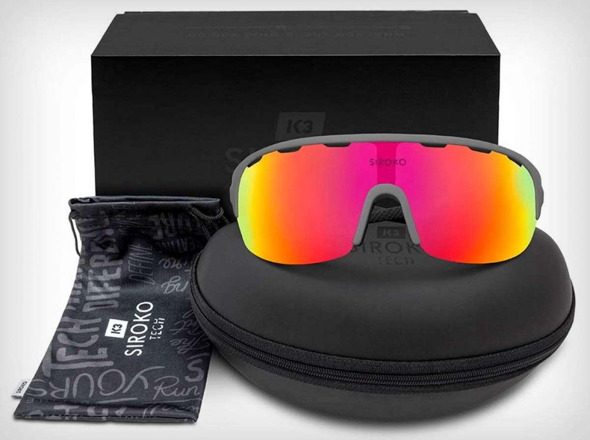 Siroko renueva por completo su económica gama de gafas deportivas K3 Tech