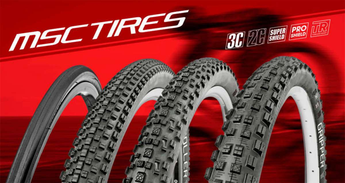 La gama de neumáticos MSC Tires, al detalle