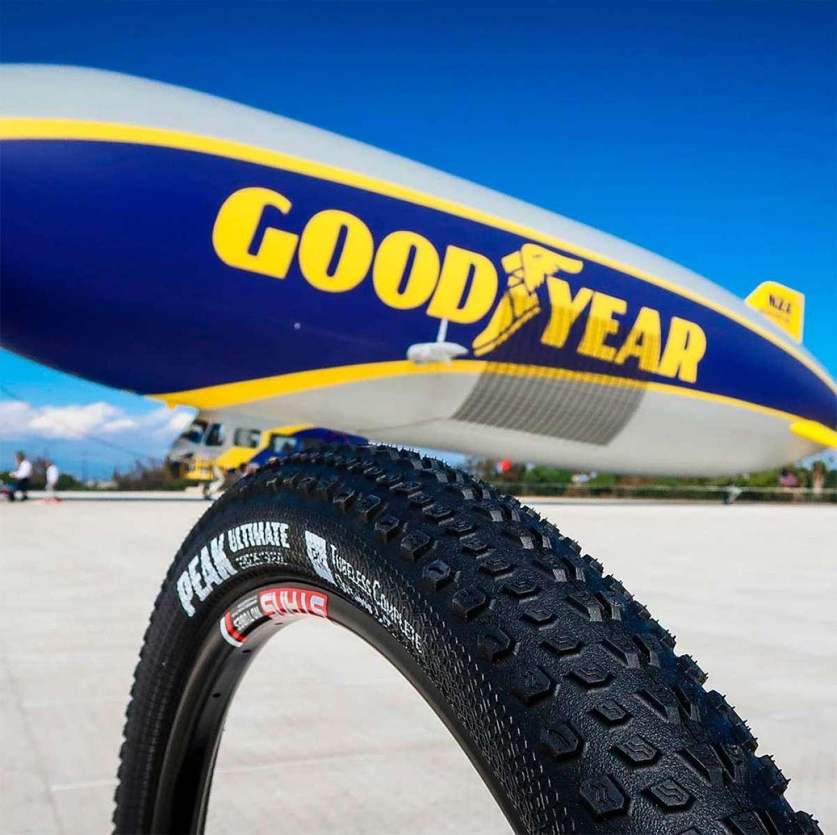 Goodyear se estrena en el mundo del Mountain Bike con los neumáticos Peak, Escape, Newton y Newton ST