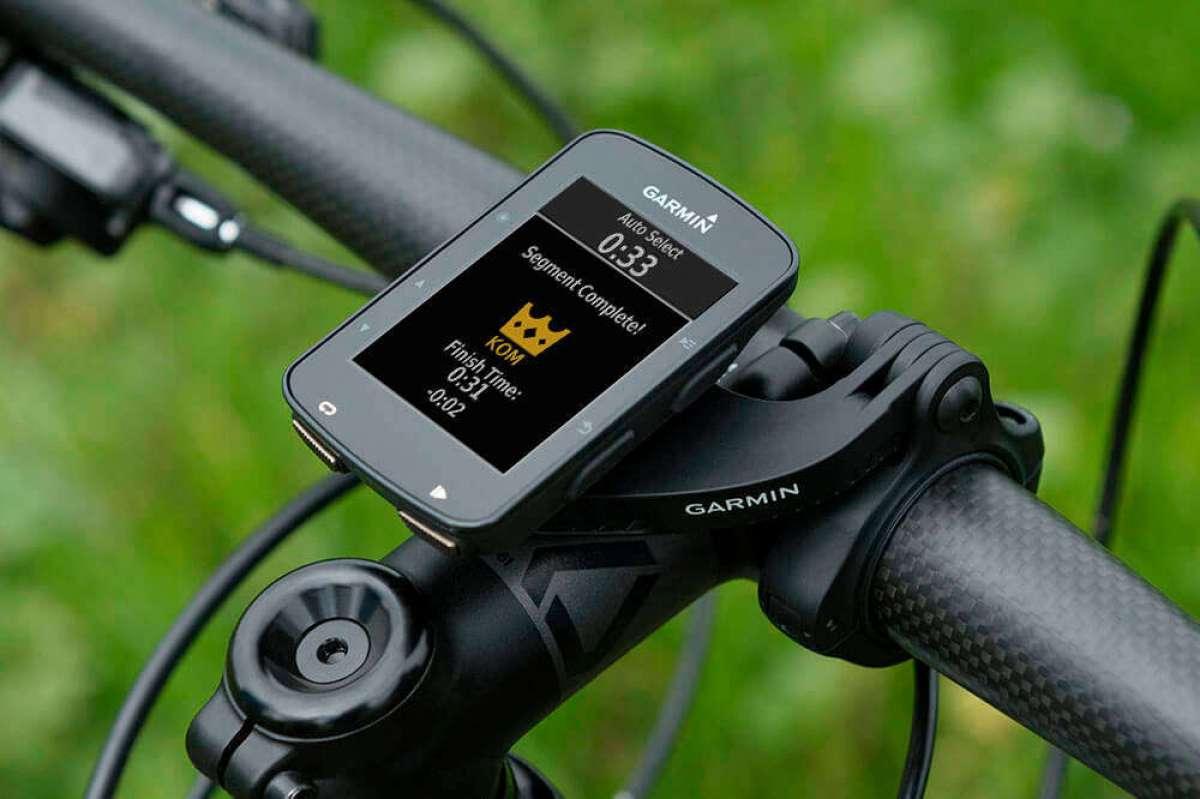 Garmin Edge 520 Plus, ahora con funciones de navegación avanzadas y mensajería entre ciclistas