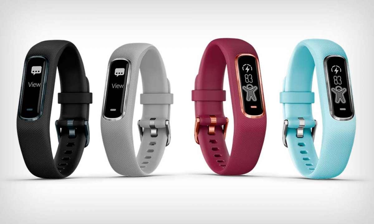 Garmin Vívosmart 4, una pulsera deportiva que mide la saturación de oxígeno en sangre