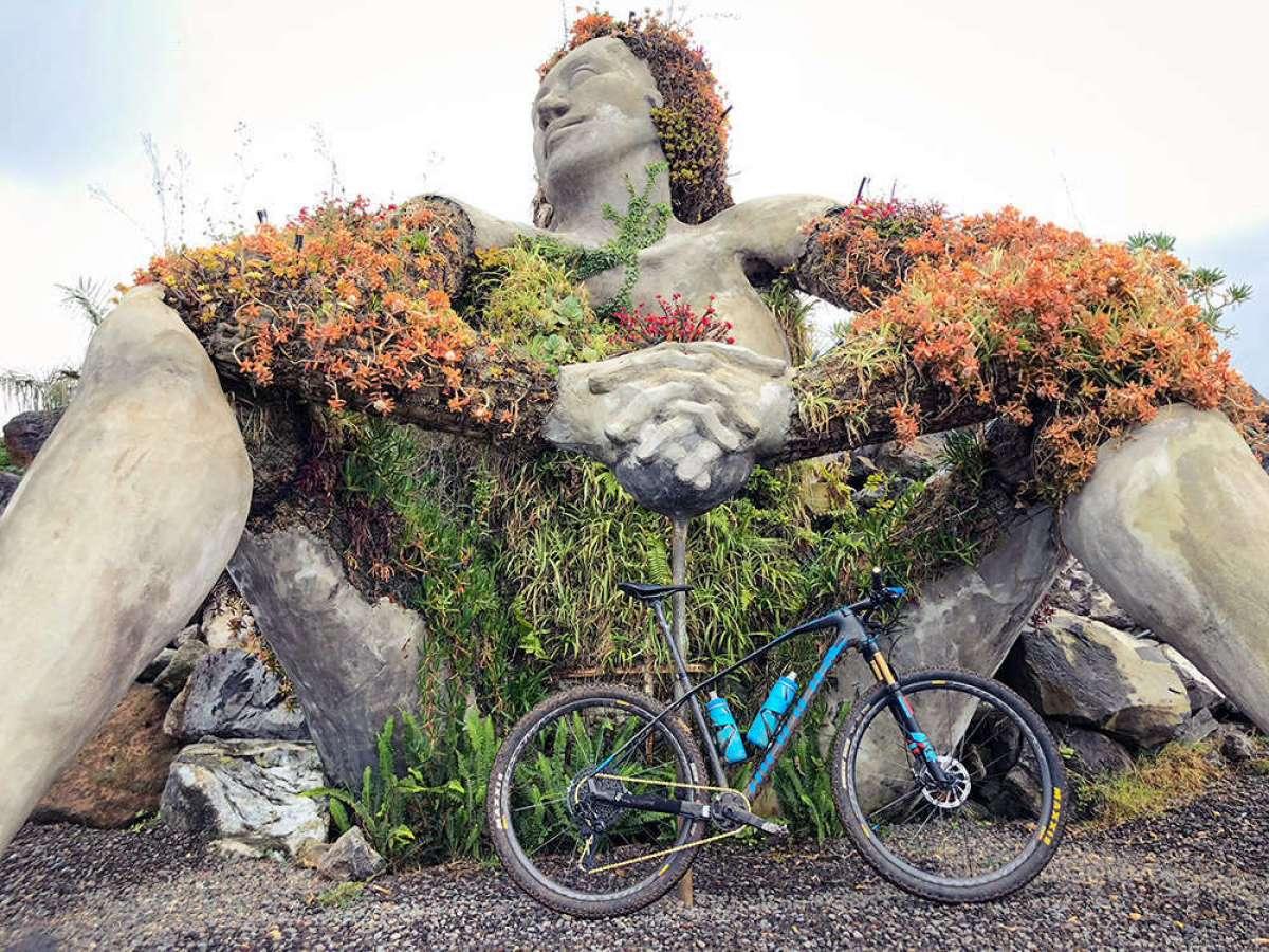 En TodoMountainBike: La foto del día en TodoMountainBike: 'Gigante de Santa Úrsula'