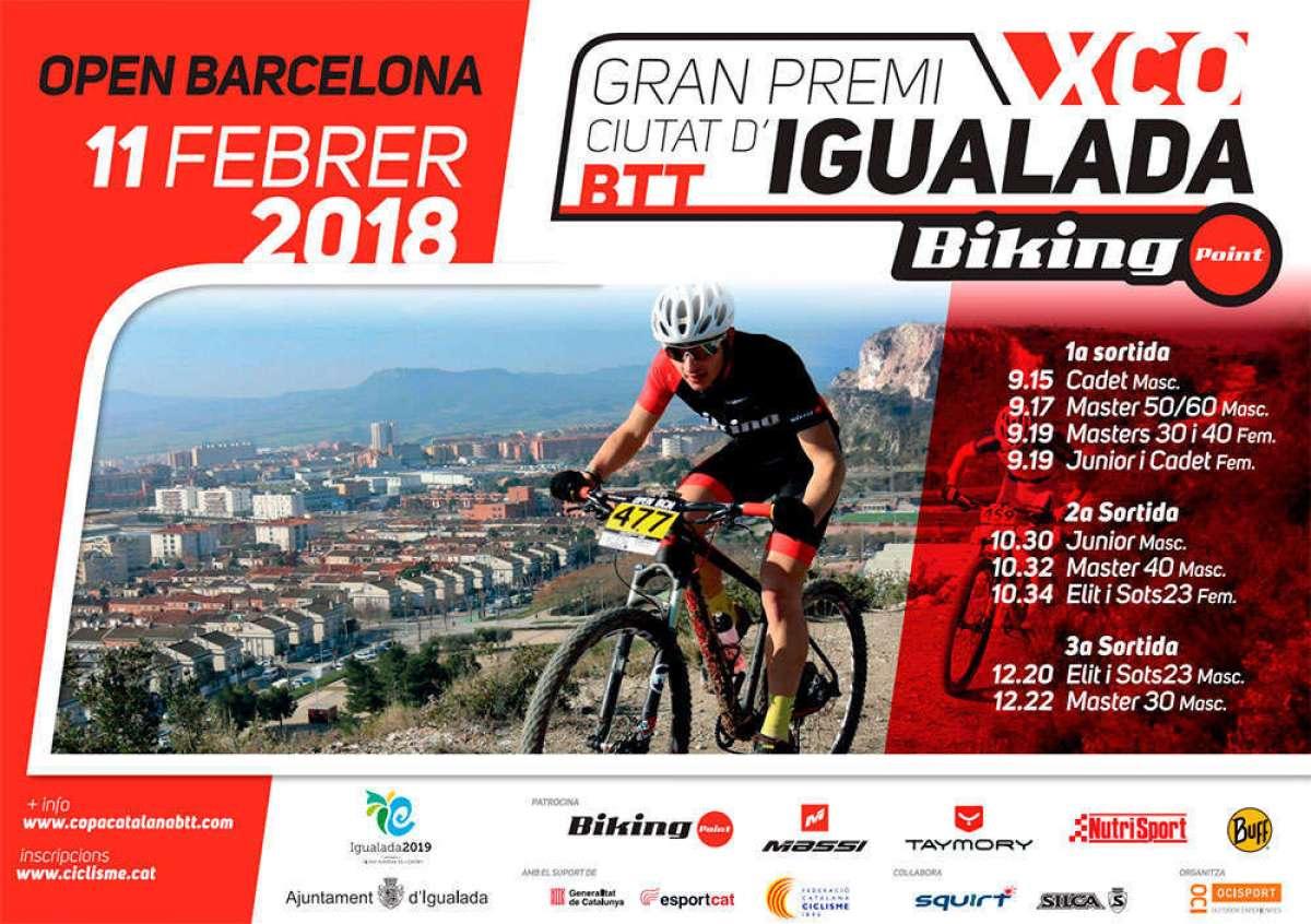 "Gran Premio Ciutat d""Igualada XCO 2018, la prueba de fuego antes de la Super Cup Massi de Banyoles"