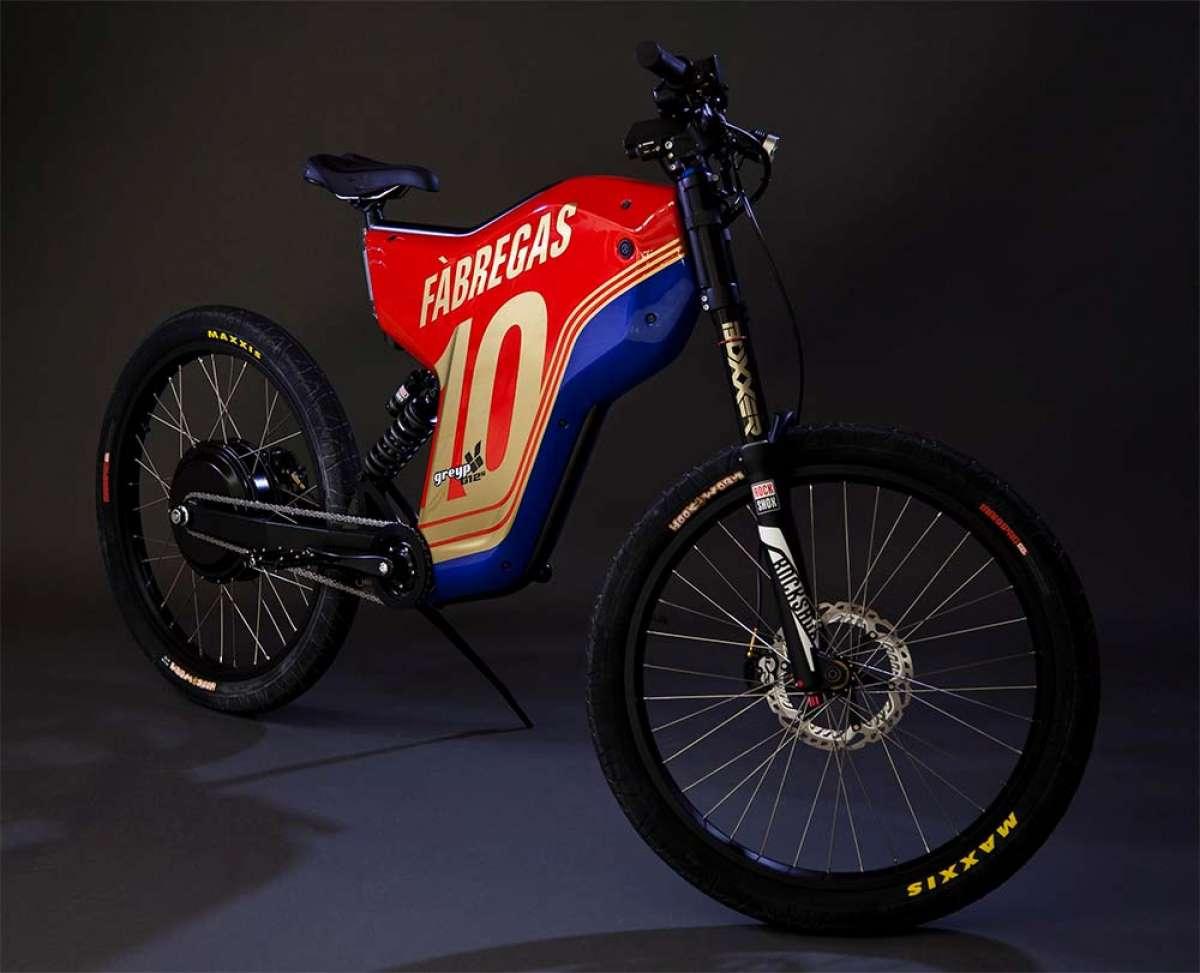 Así ha recuperado Greyp Bikes la bicicleta robada al ex-jugador del FC Barcelona Cesc Fàbregas