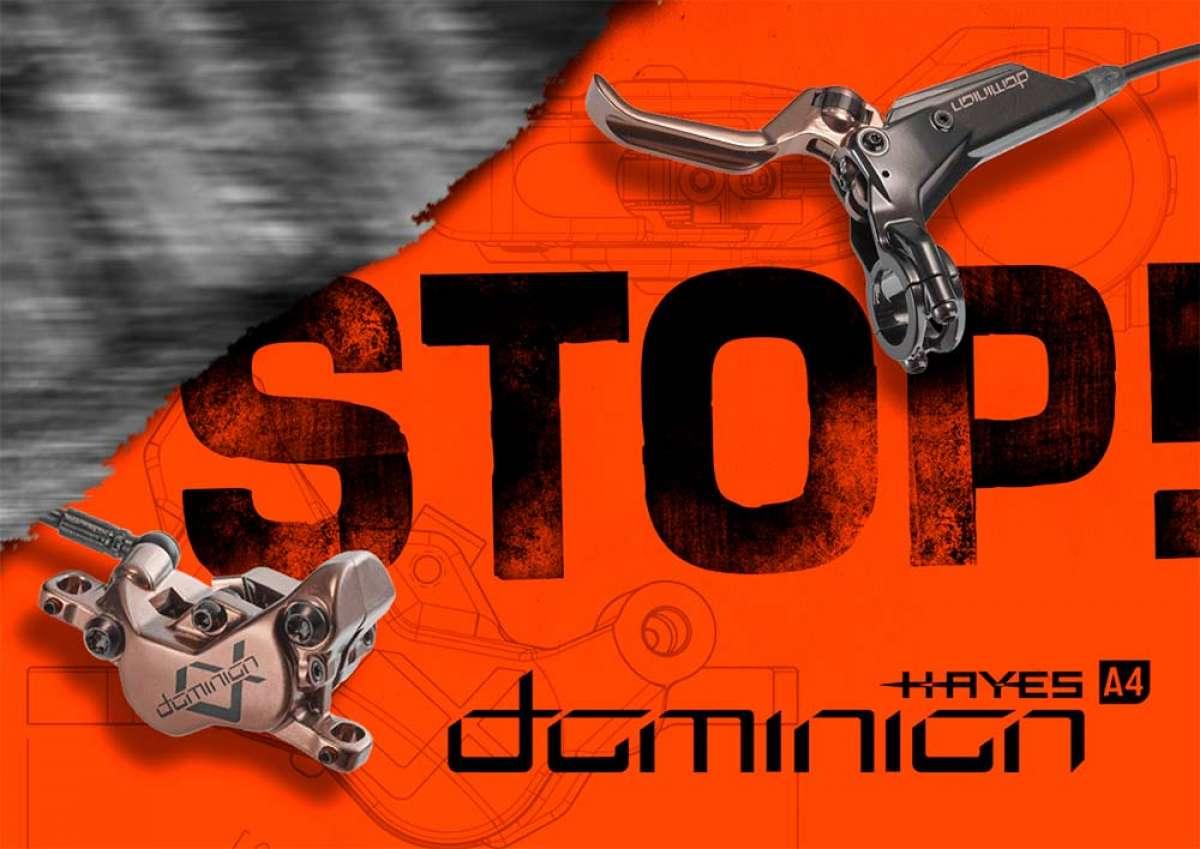 Hayes Dominion A4, unos frenos potentes de mantenimiento sencillo para bicicletas de Trail, Enduro, DH y eléctricas