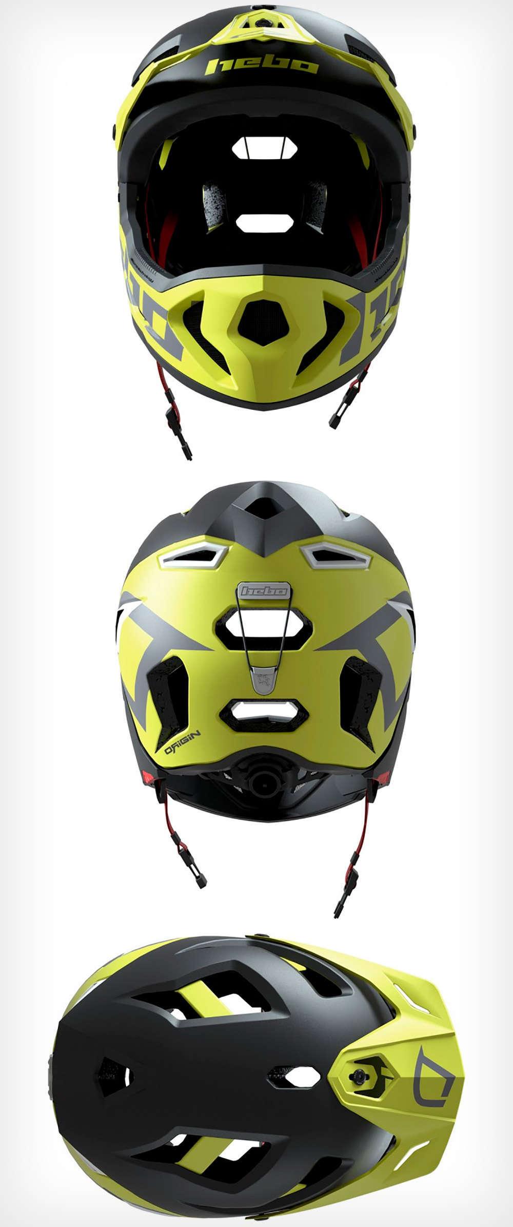 En TodoMountainBike: Hebo Genesis, un casco con mentonera desmontable para subir cómodamente y bajar dándolo todo