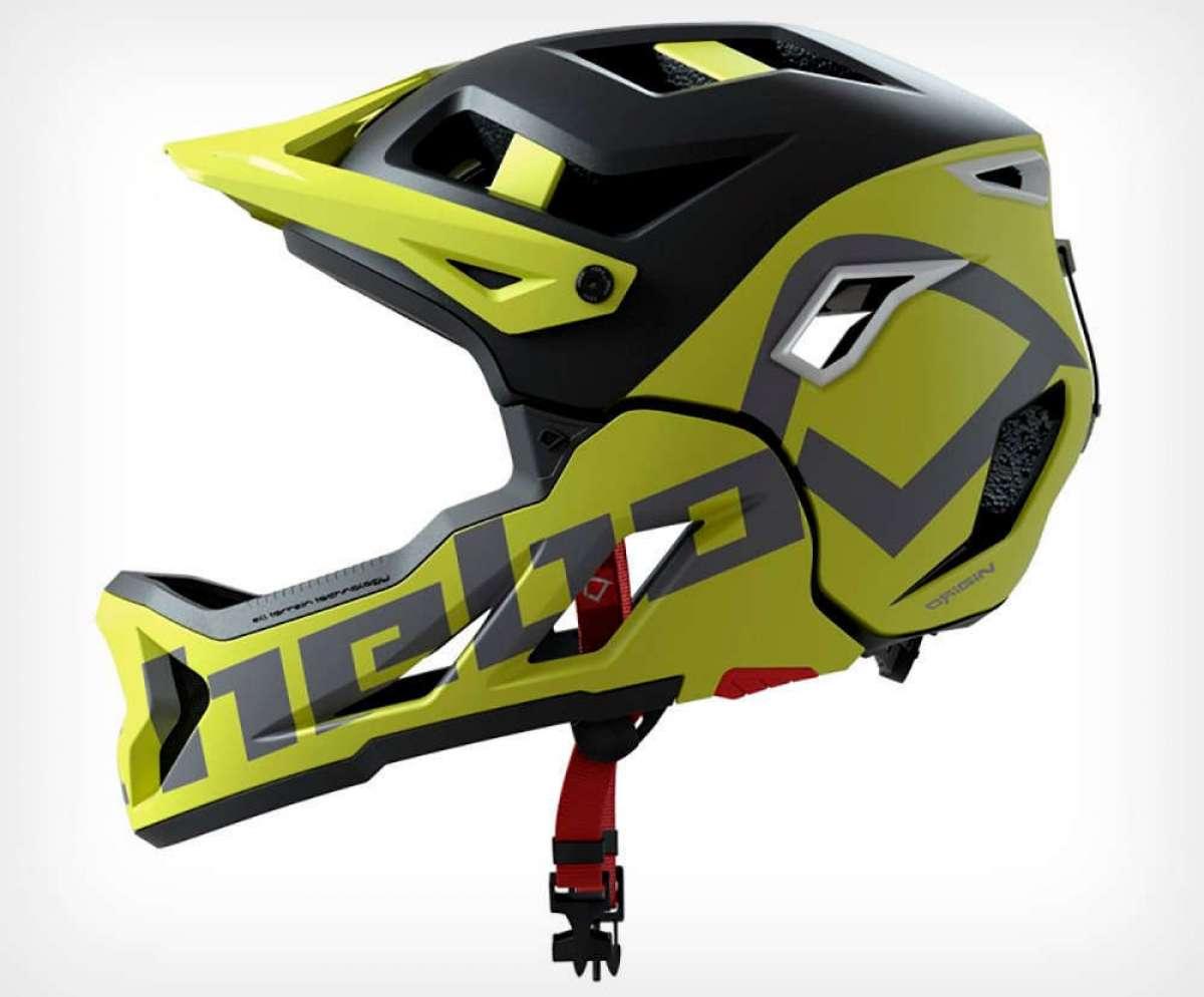 Hebo Genesis, un casco con mentonera desmontable para subir cómodamente y bajar dándolo todo