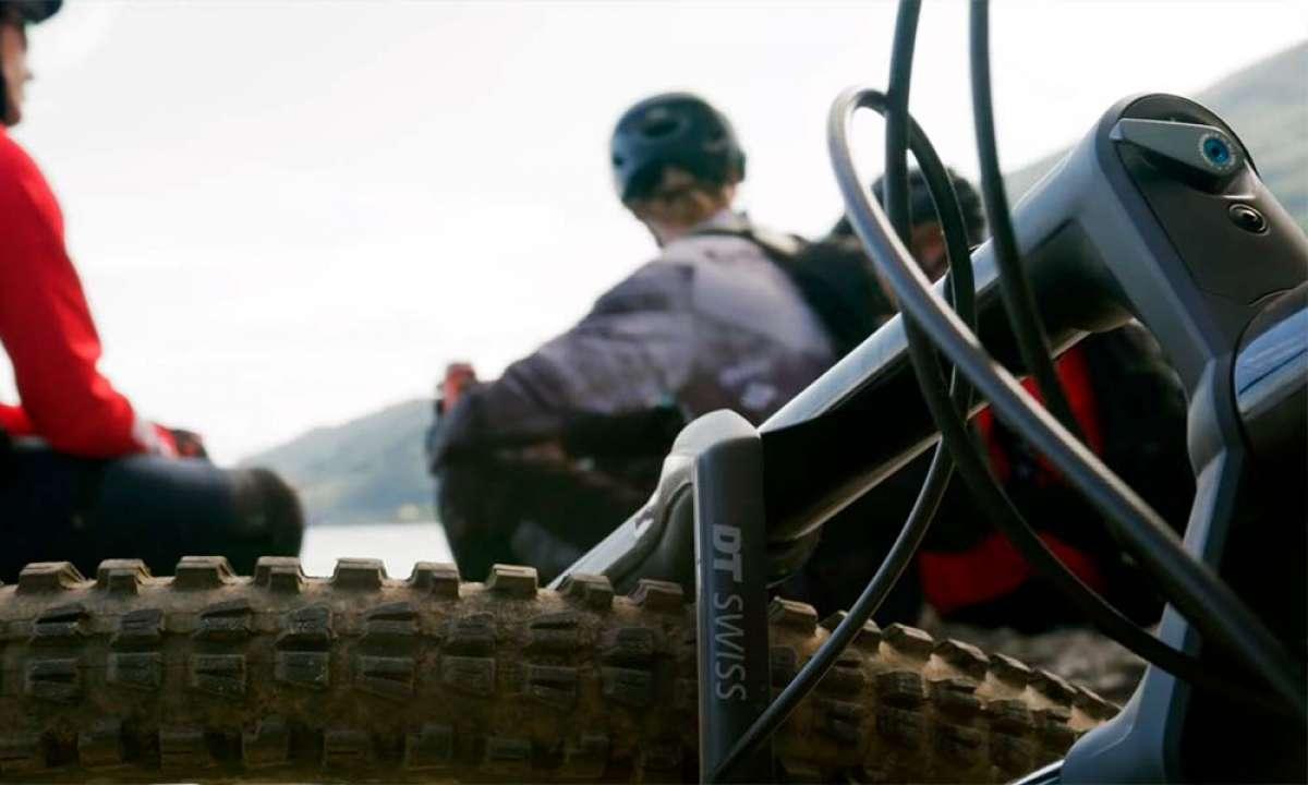 DT F 535 One, una horquilla con cartucho sensitivo para bicicletas de Trail y Enduro