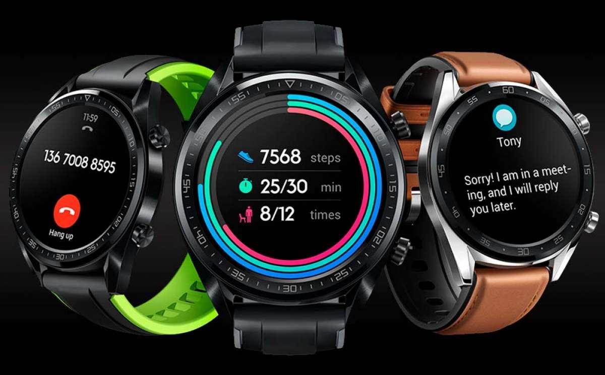 Huawei Watch GT, un 'smartwatch' de gran autonomía enfocado a deportistas