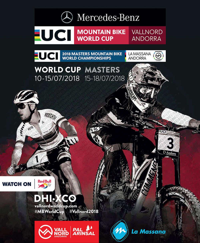 Apertura de inscripciones para el Campeonato del Mundo Másters UCI XCO/DHI de 2018