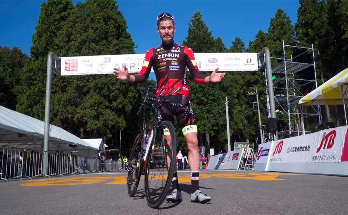 En TodoMountainBike: La última carrera de Óscar Pujol como ciclista profesional: la Japan Cup desde dentro