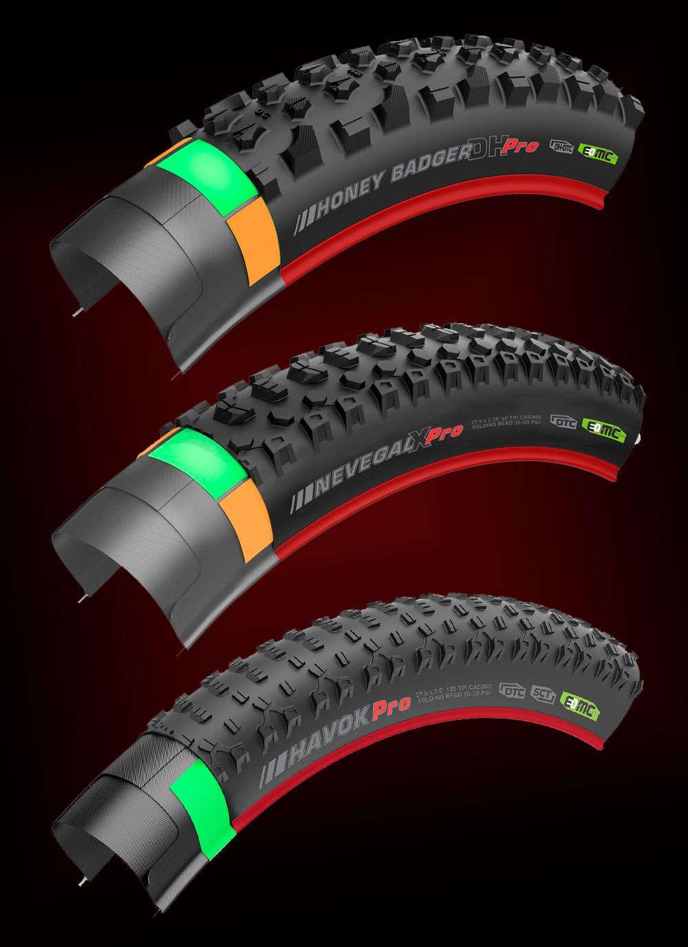 En TodoMountainBike: Kenda amplía su gama de neumáticos compatibles con bicicletas eléctricas, ahora con denominación EB50, EB25 y EMC