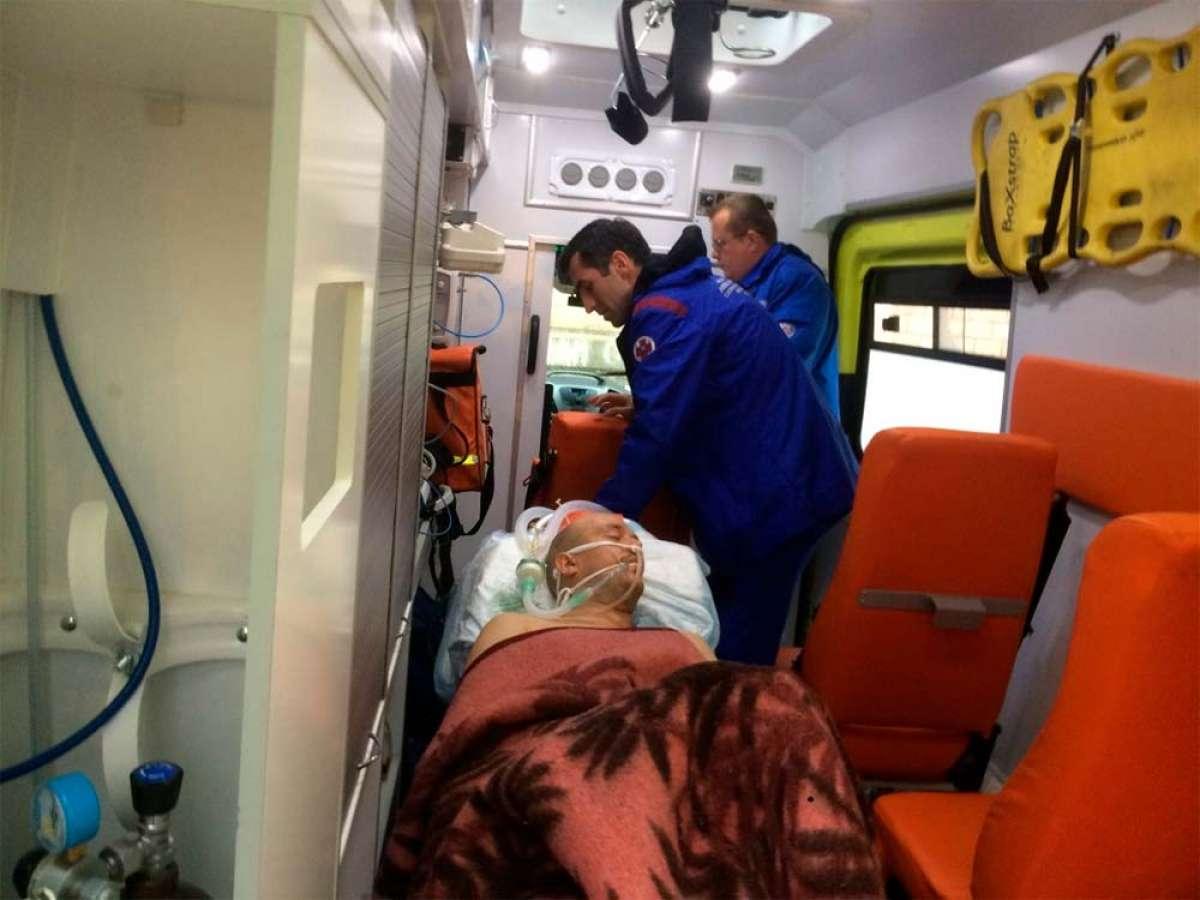 El 'freerider' ruso Kirill Berendoni, con lesión cerebral tras una mala caída
