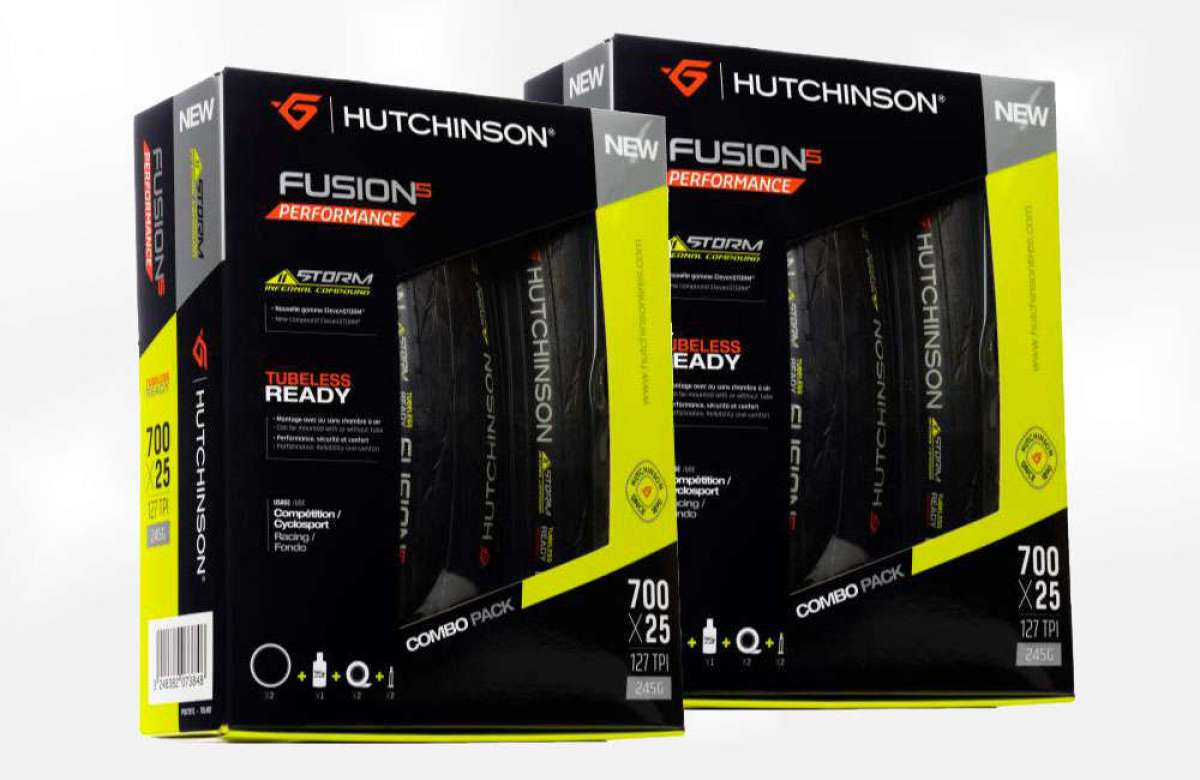 Ruedas tubelizadas para todas las bicicletas de asfalto con el kit de carretera Hutchinson TLR