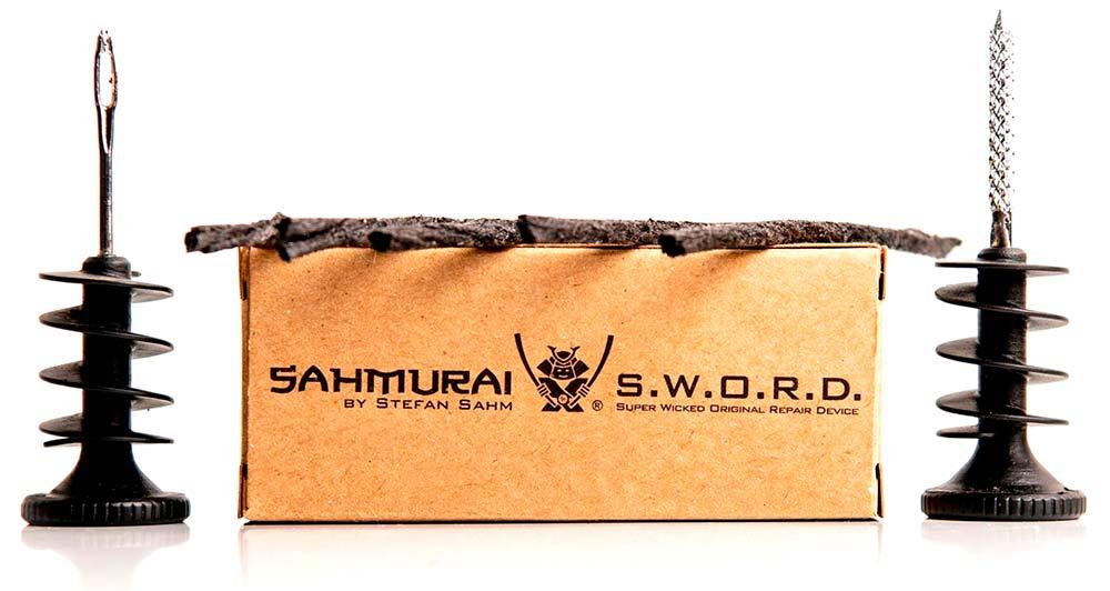 En TodoMountainBike: El kit de reparación 'tubeless' Sahmurai Sword se actualiza para ser más práctico y seguro