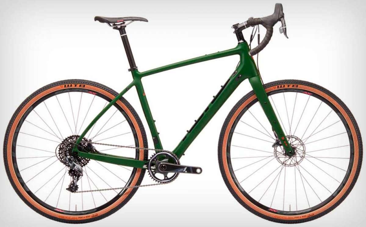 Kona Libre, una Gravel Bike de carbono para rodar sin limitaciones sobre asfalto y pistas de tierra