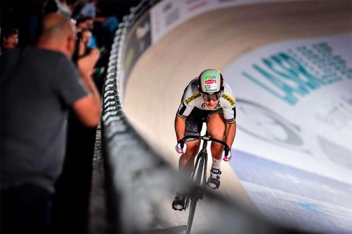 Kristina Vogel, campeona del mundo de ciclismo en pista, en estado grave tras un accidente mientras entrenaba