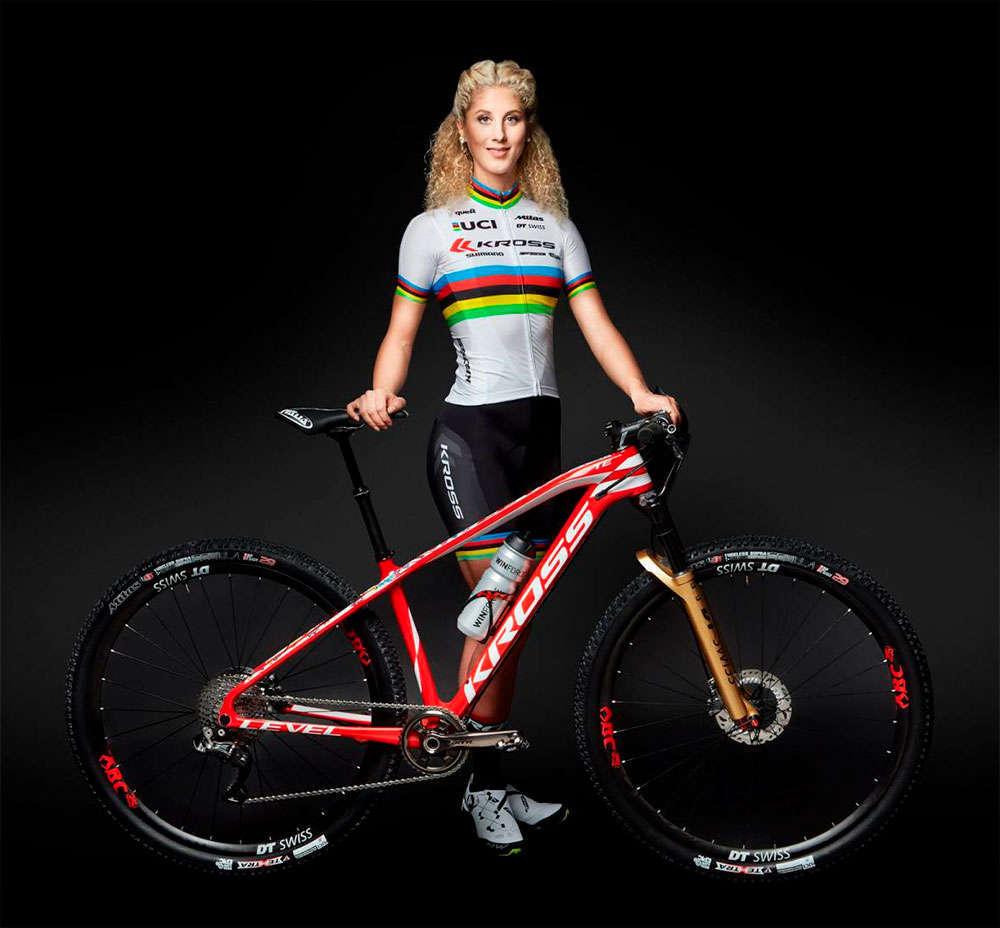 En TodoMountainBike: El Kross Racing Team de Jolanda Neff apuesta por Shimano para la temporada 2018