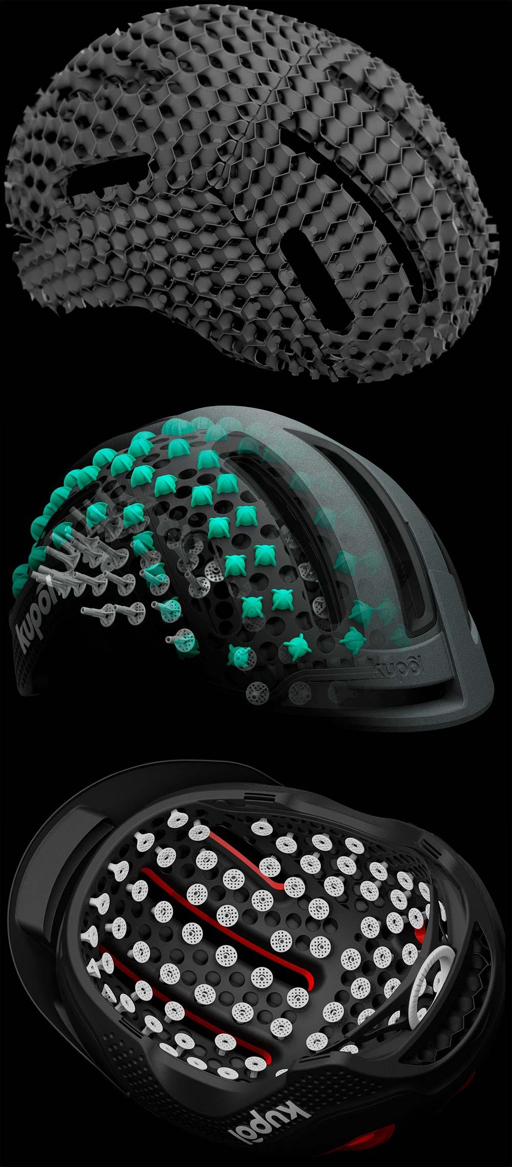 En TodoMountainBike: Kupol, el casco impreso en 3D que lleva la seguridad, comodidad y ventilación a un nuevo nivel