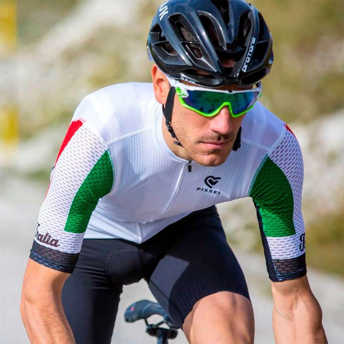 La ropa ciclista de la marca Pissei llega a España de la mano de Laatste Ronde