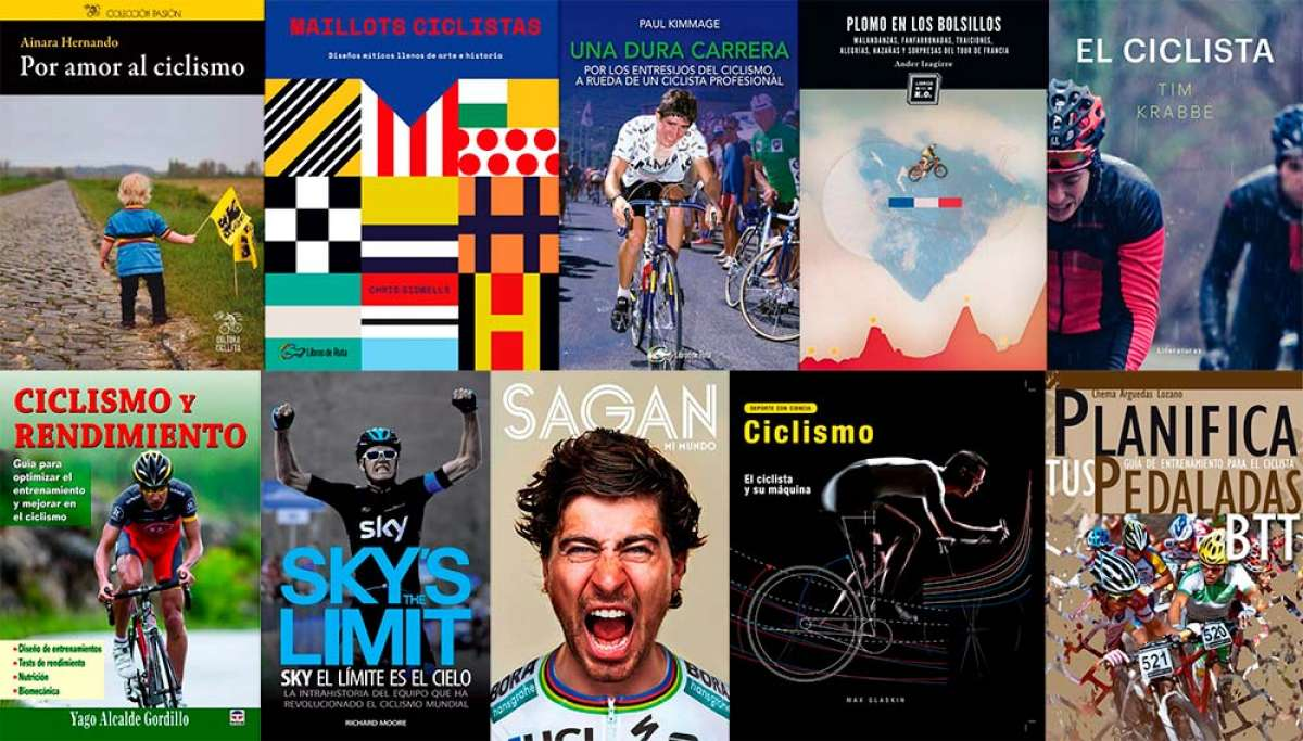 Guía de compra: diez libros imprescindibles para aficionados al ciclismo