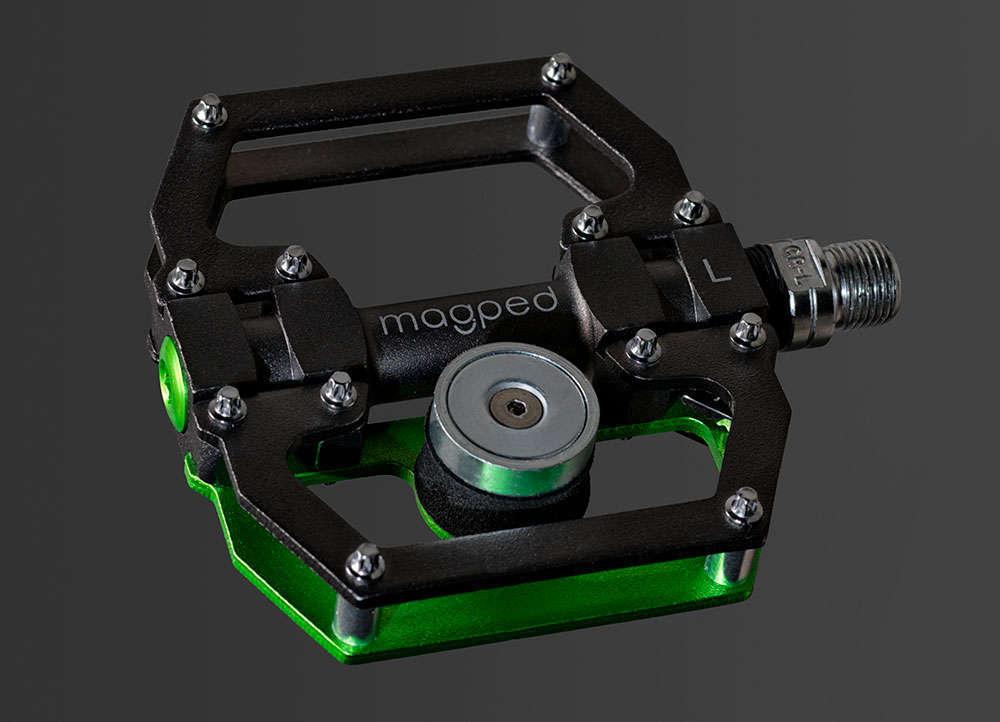 En TodoMountainBike: MagPed, unos pedales de plataforma con anclaje magnético de seguridad