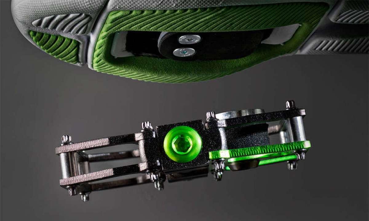 MagPed, unos pedales de plataforma con anclaje magnético de seguridad