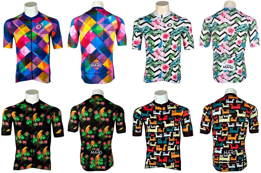 En TodoMountainBike: El Tío del Mazo presenta la gama de maillots Air: tejidos ultraligeros con diseños muy atrevidos