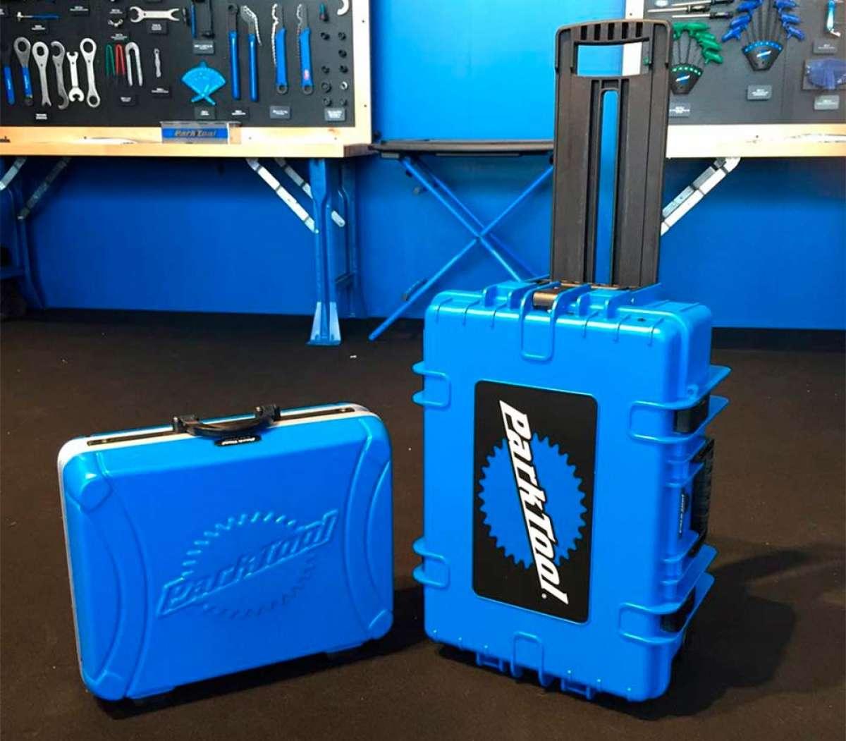 Park Tool presenta dos maletas de herramientas para mecánicos viajeros