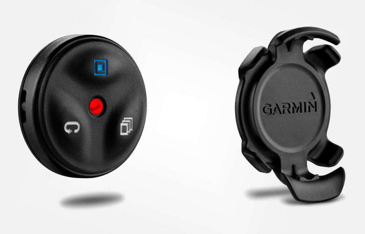 Adiós a los despistes trasteando el ciclocomputador con el mando remoto para dispositivos Garmin Edge